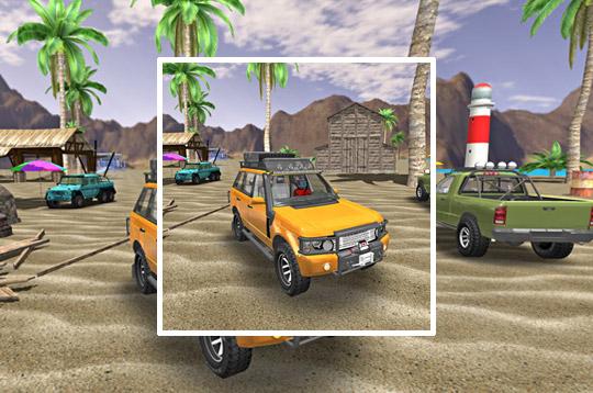 6x6 Offroad Truck Driving Sim 2018