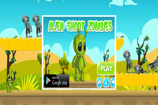 Alien Shoot Zombies