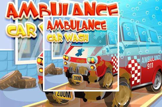 Ambulance Car Cleaning