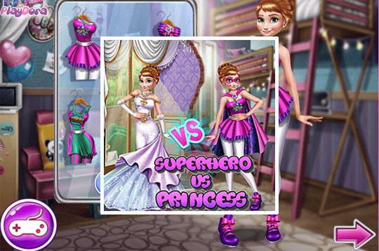 Annie Superhero Vs Princess