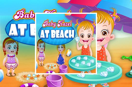 Baby Hazel at Beach
