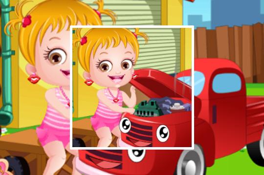 Baby Hazel Mechanic Dress Up