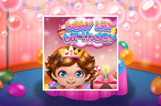 Baby Lily Birthday
