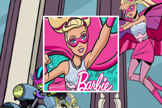 Barbie: Comic Maker