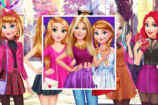 Barbie Disney Meet-Up