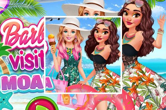 Barbie Visits Moana
