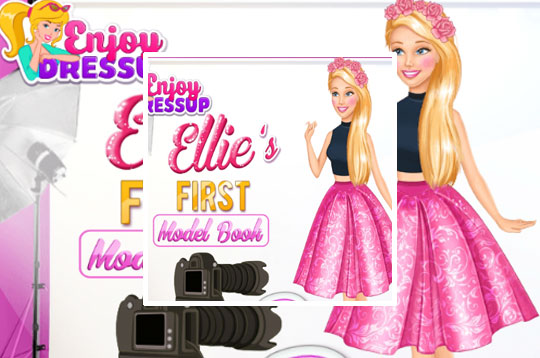Barbies First Model Book