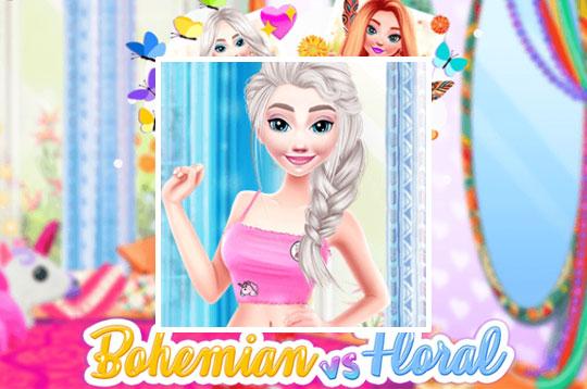 BFF: Bohemian Vs Floral