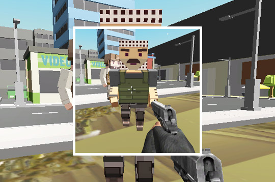 Block Pixel Cop: Gun Craft In Robbers World