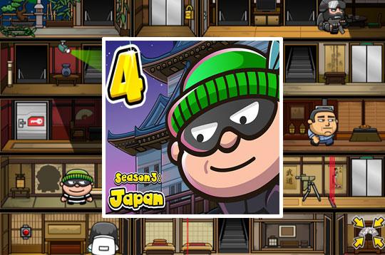 Bob the Robber 4: Season 3 - Japan