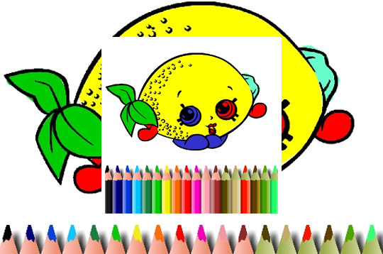 Bts Fruits Coloring Book