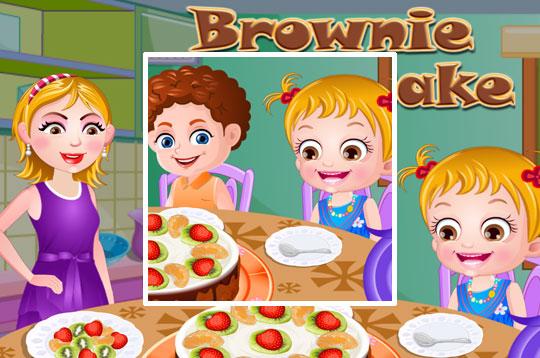 Chocolate Brownie Cake - Hazel & Mom's Recipes