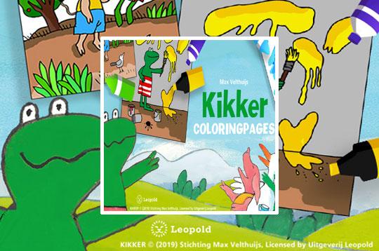 Coloring Kikker
