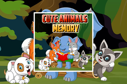 Cute Animals Memory