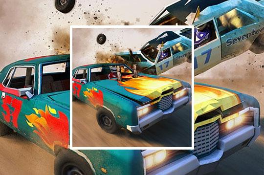 Demolition Derby Crash Racing