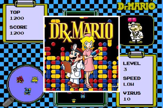 Dr Mario Html5