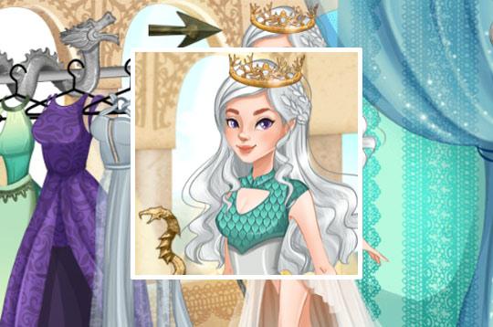 Dragon Queen Coronation Day