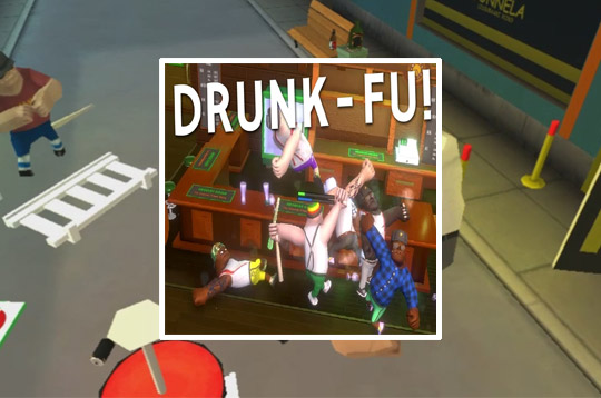 Drunk Fu: Wasted Masters