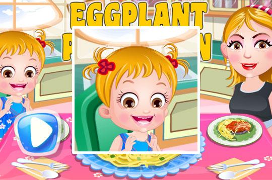 Eggplant Pamesan - Hazel & Mom's Recipes