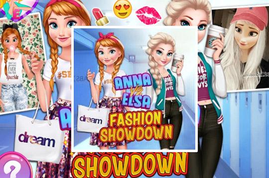 Elsa vs Anna: Fashion Showdown
