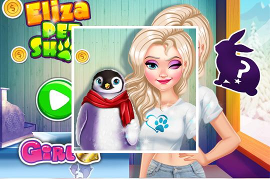 Elsa's Pet Shop
