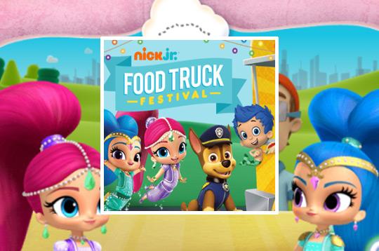 Festival de Food Truck do Nick Jr.