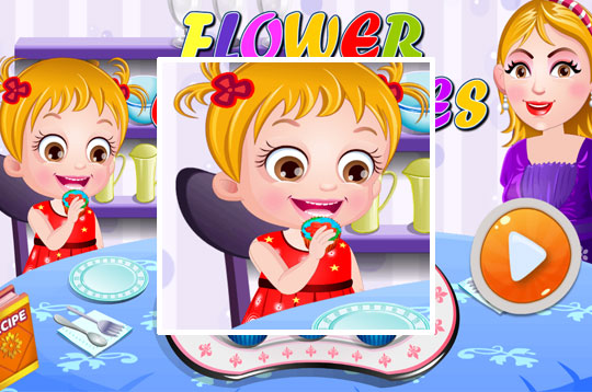 Flower Cupcake - Hazel & Mom's Recipes
