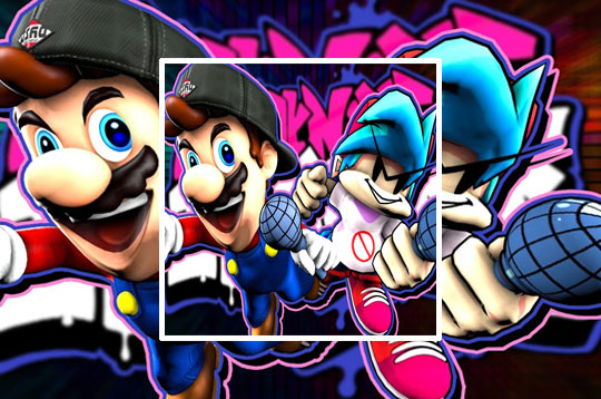 Friday Night Funkin': SMG4 If Mario Was In FNF Mod
