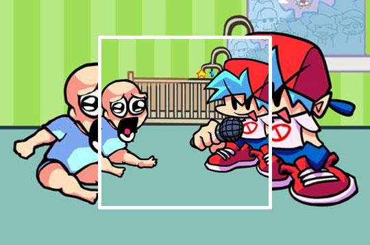 Friday Night Funkin' vs Baby Blue Brother