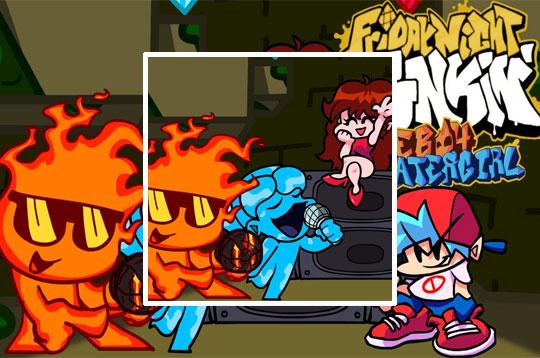 Friday Night Funkin vs' Fireboy and Watergirl