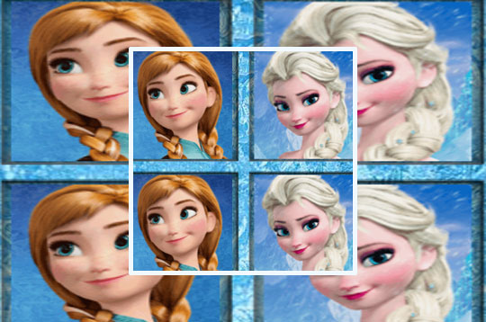Frozen: Tic Tac Toe Game