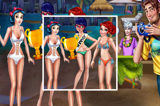Girls Swimsuit Contest