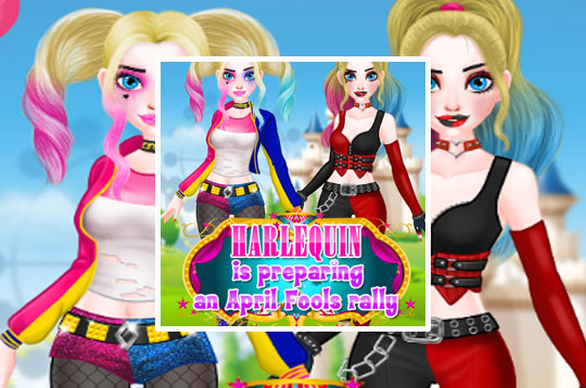Harley Quinn April Fools Day