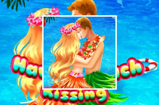 Hawaii Beach Kissing