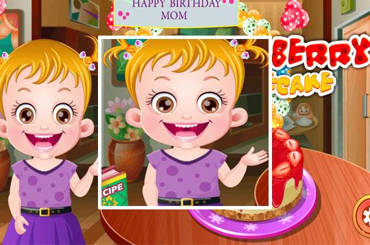Hazel and Mom's Recipe - Strawberry Cake