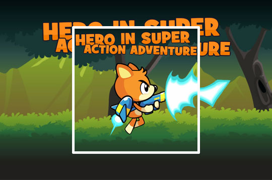Hero In Super Action Adventure