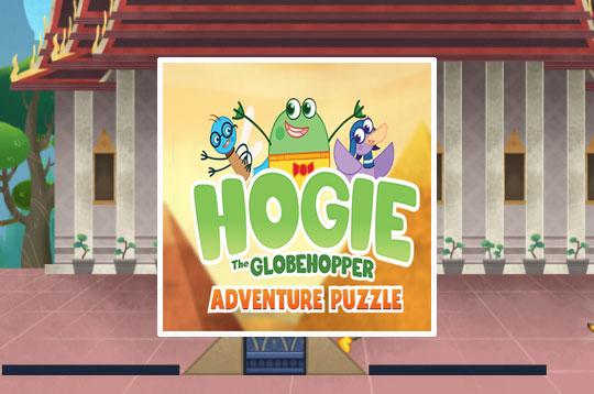 Hogie The Globehopper Adventure Puzzle