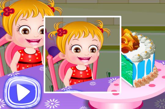 Ice-Cream Cake - Hazel & Mom's Recipes