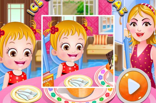 Ice-cream Sundae - Hazel & Mom's Recipes
