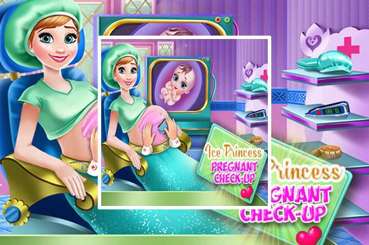 Ice Princess Pregnant Check Up