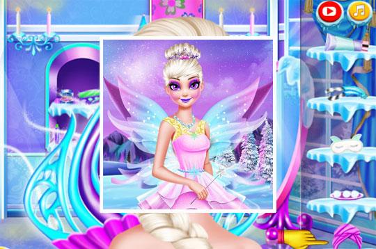 Ice Queen Beauty Makeover