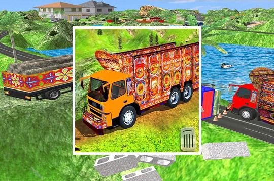 Indian Cargo Truck Transporter