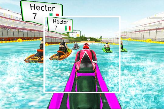 Jet Ski Boat Champion Ship Race: Xtreme Boat Racin
