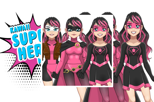Kawaii Superhero Maker