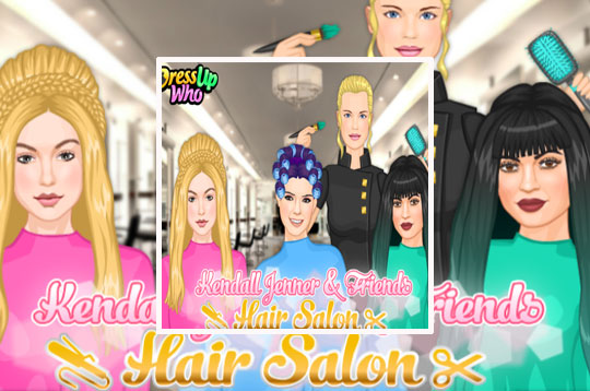 Kendall Jenner & Friends Hair Salon