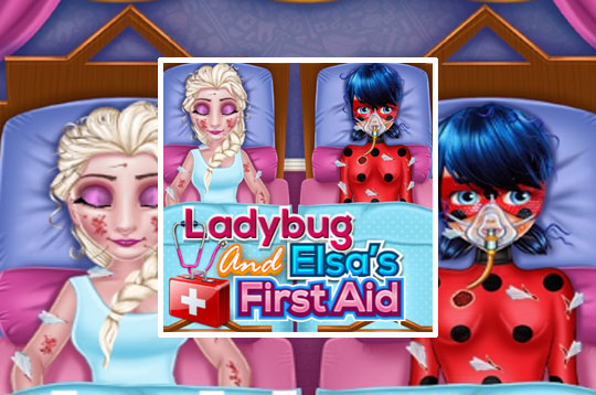 Ladybug and Elsa's First Aid