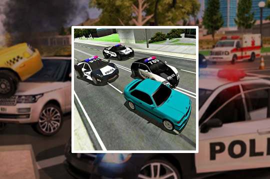 Mad Cop Police Car Race: Police Car Vs Gangster Es
