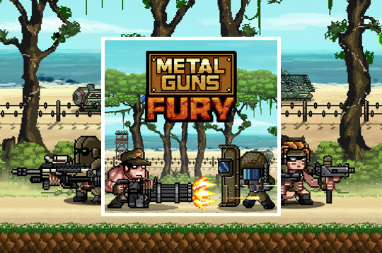 Metal Guns Fury: Beat Em Up