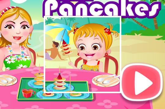 Mini Pancakes - Hazel & Mom's Recipes