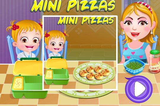 Hazel and Mom's Recipes: Mini Pizzas